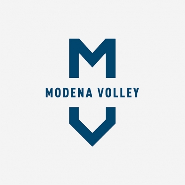 logo azimut modena volley grey